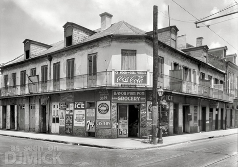 New Orleans, Louisiana, about 1937.კოკა-კოლა